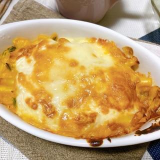 チーズたっぷり♪カボチャのグラタン(北海道産)