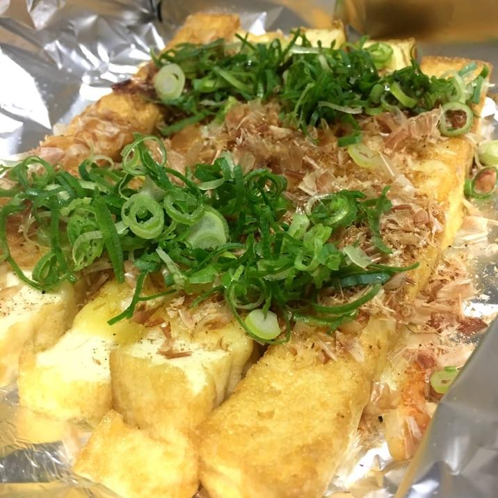 【糖質オフ】トースターで!厚揚げのチーズ醤油焼き☆