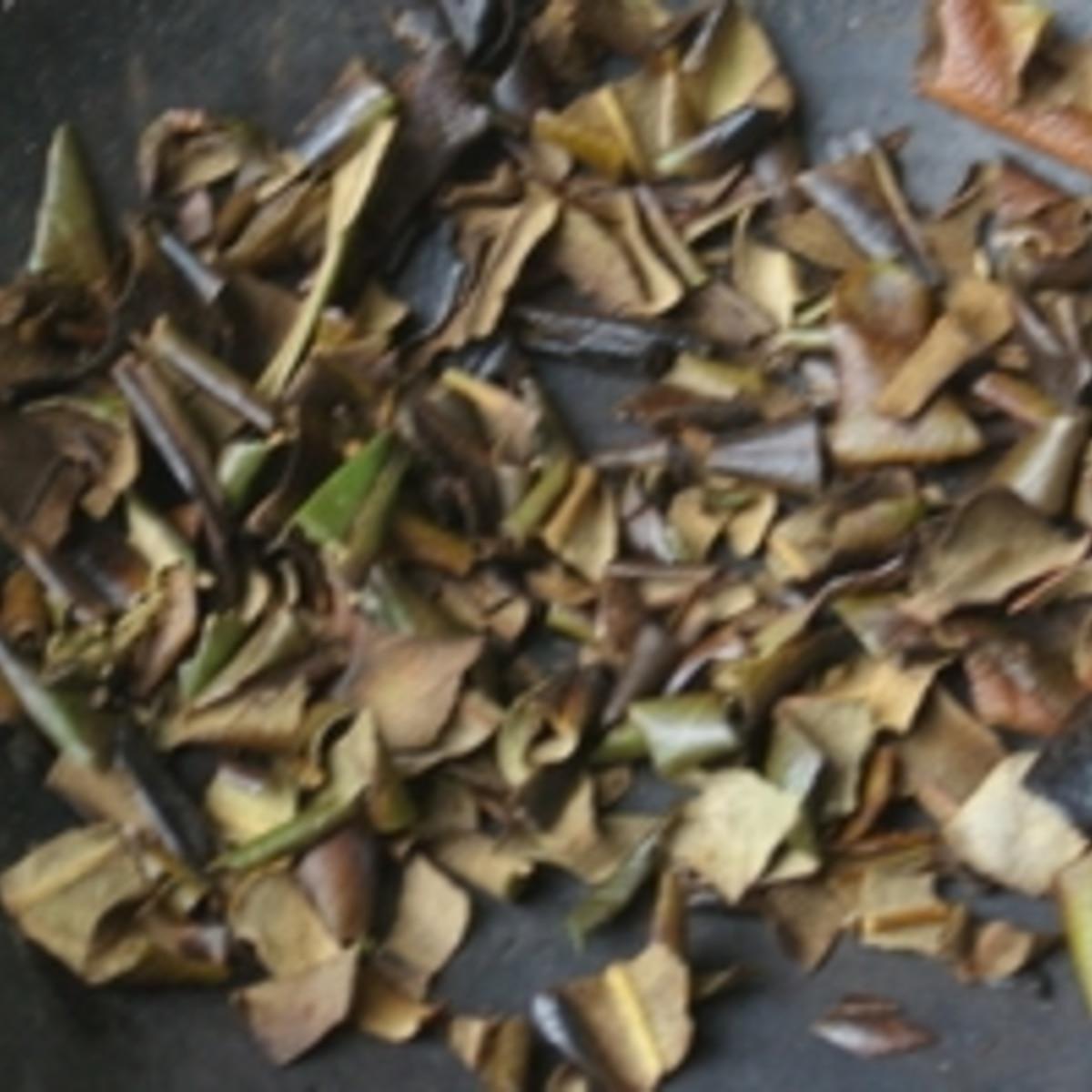茶 作り方 びわ