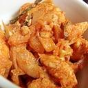 鶏胸肉の辛味噌煮込み