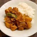 チキンとオクラの南インド風カレー