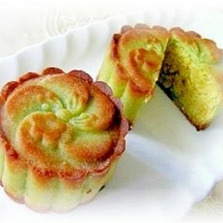 中秋節にも♪和菓子みたいなうぐいす月餅