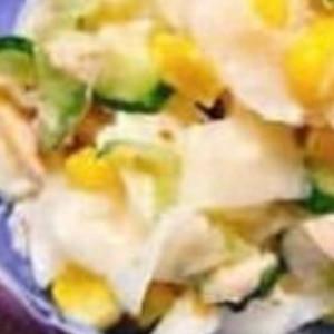 ツナでコールスローサラダ