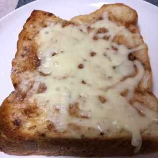 悪魔トースト!シナモンチーズトースト