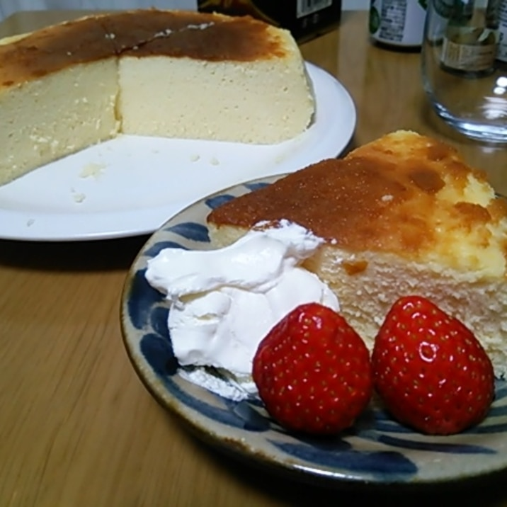 作る ケーキ で フライパン チーズ