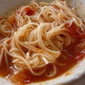 トマトつけ麺de夏のひんやり弁当♪