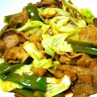 回鍋肉★甜麺醤でがっつり濃い味♪