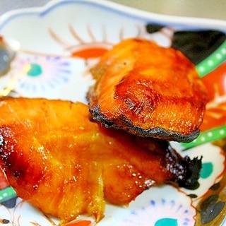 鮭のめんつゆ焼き