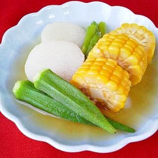冷た~い♪夏野菜+αで夏バテ解消!漬けびたし