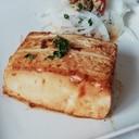 バター醤油で簡単♪昔ながらのヘルシー豆腐ステーキ