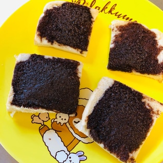 ココアメロンパン風トースト
