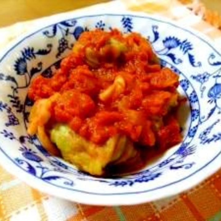 トマト 缶 冷凍 ロール キャベツ