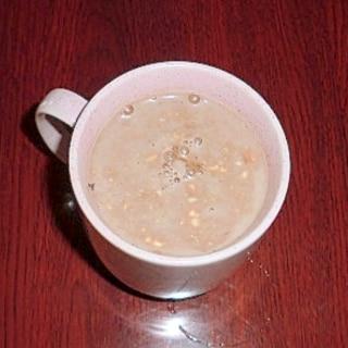 ココア風味で☆飲むヨーグルト