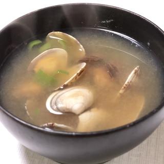 旨味たっぷり!アサリの味噌汁