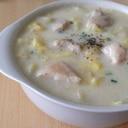 ヘルシー美食♡鶏肉と白菜の豆乳クリーム煮