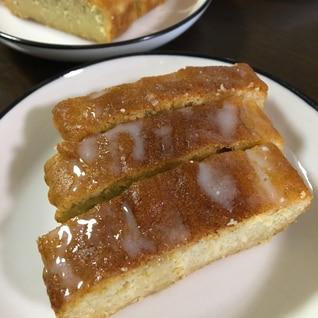 オートミールで! 梅ジャムのパウンドケーキ