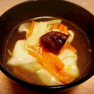 超簡単! サンラータン風♪餃子スープ☆