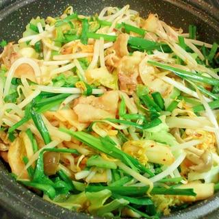 タジン鍋で、簡単☆体が温もる、キムチ鍋♪