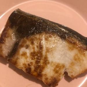 *フライパンで♪ぶりの塩焼き*