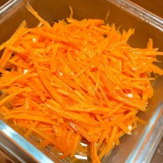 ★作り置きに★ダブルオイルの塩麹にんじんラペ