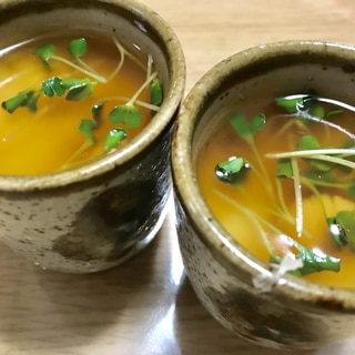 卵不使用★長芋の茶碗蒸し