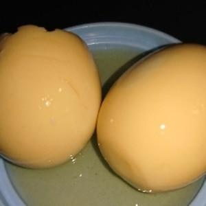 ガス代節約のゆで卵で味付け卵(煮卵)