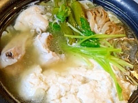 これであなたも鍋名人♪ 博多風「水炊き」
