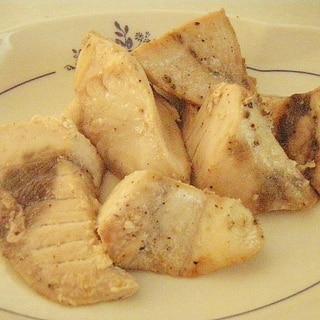 下味冷凍保存可能★かじきのガーリックオイル漬け焼き