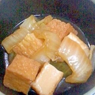 白菜と厚揚げのしょうが煮