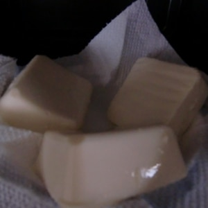 レンジで時短!豆腐の水切り