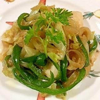 鶏ムネ肉と野菜の炒め物