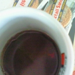 チョコソースで簡単♪ チョコーヒー