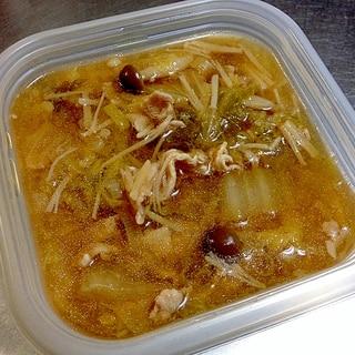 圧力鍋☆白菜の和風スープ(冷凍保存OK)