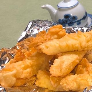 沖縄おばぁの味♪魚とイカのウチナー天ぷら