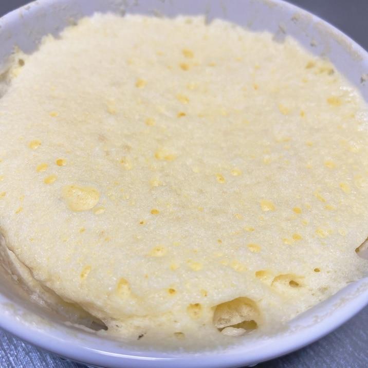 BPなし簡単☆レンジでふんわりマグケーキ