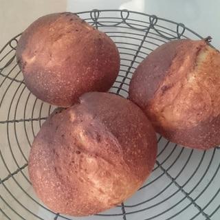 酒種の全粒粉入りシンプルパン