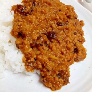 トマトジュースで(^^)簡単キーマカレー♪