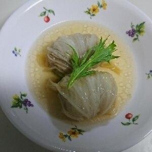 優しい味の柔らかロール白菜コンソメ味♪