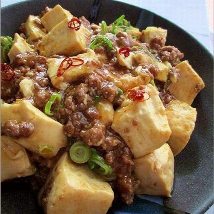 レンジで手抜き!ささっと簡単麻婆豆腐
