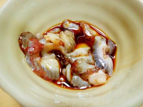 【酒肴】ナマコの酢の物