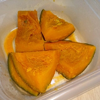 時短かぼちゃの煮物★電子レンジで下準備♪