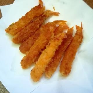 冷凍海老フライの美味しい揚げ方