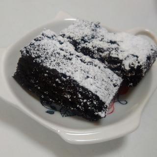 ホットケーキミックスで簡単!チョコレートブラウニー
