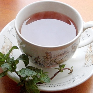 紅茶を美味しく!癒し系❤ミント&レモングラスで♪