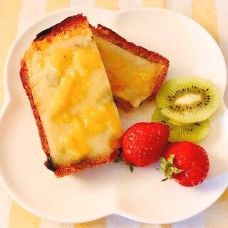 ママレードチーズトースト