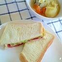 ホットサンド?いいえ、トーストサンドです♪