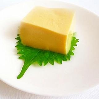 圧力鍋で簡単&時短 玉子豆腐