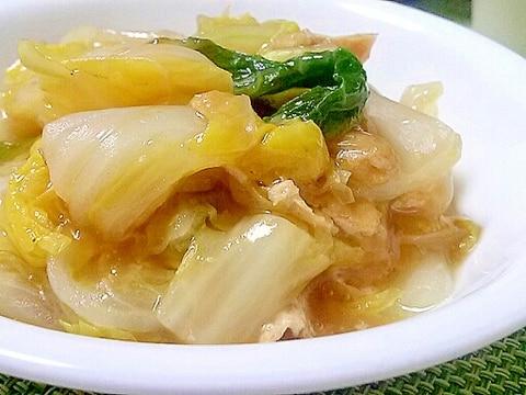 白菜が甘~い☆白菜と油揚げのうま煮
