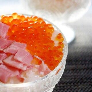 父の日に★簡単で豪華♪いくらのカップ寿司