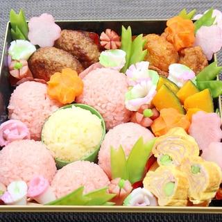 行楽に♪春のお弁当に♪お花いっぱい♪お花見弁当